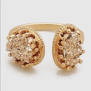 Valerie Druzy Cuff Ring